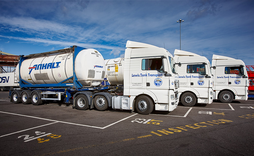Pertochemical Transport UK and Europe by Lewis Tank Transport