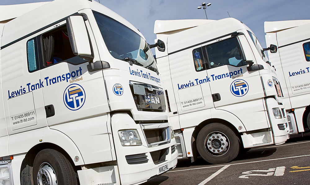 Tank and Container Transport UK and Europe by Lewis Tank Transport