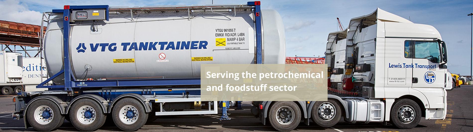 Food Tanker Transport Petrochemical Tanker Transport - Lewis Tank Transport