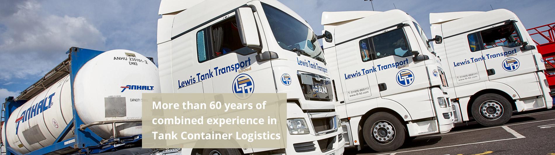 Tank Transport UK and Europe - Lewis Tank Transport